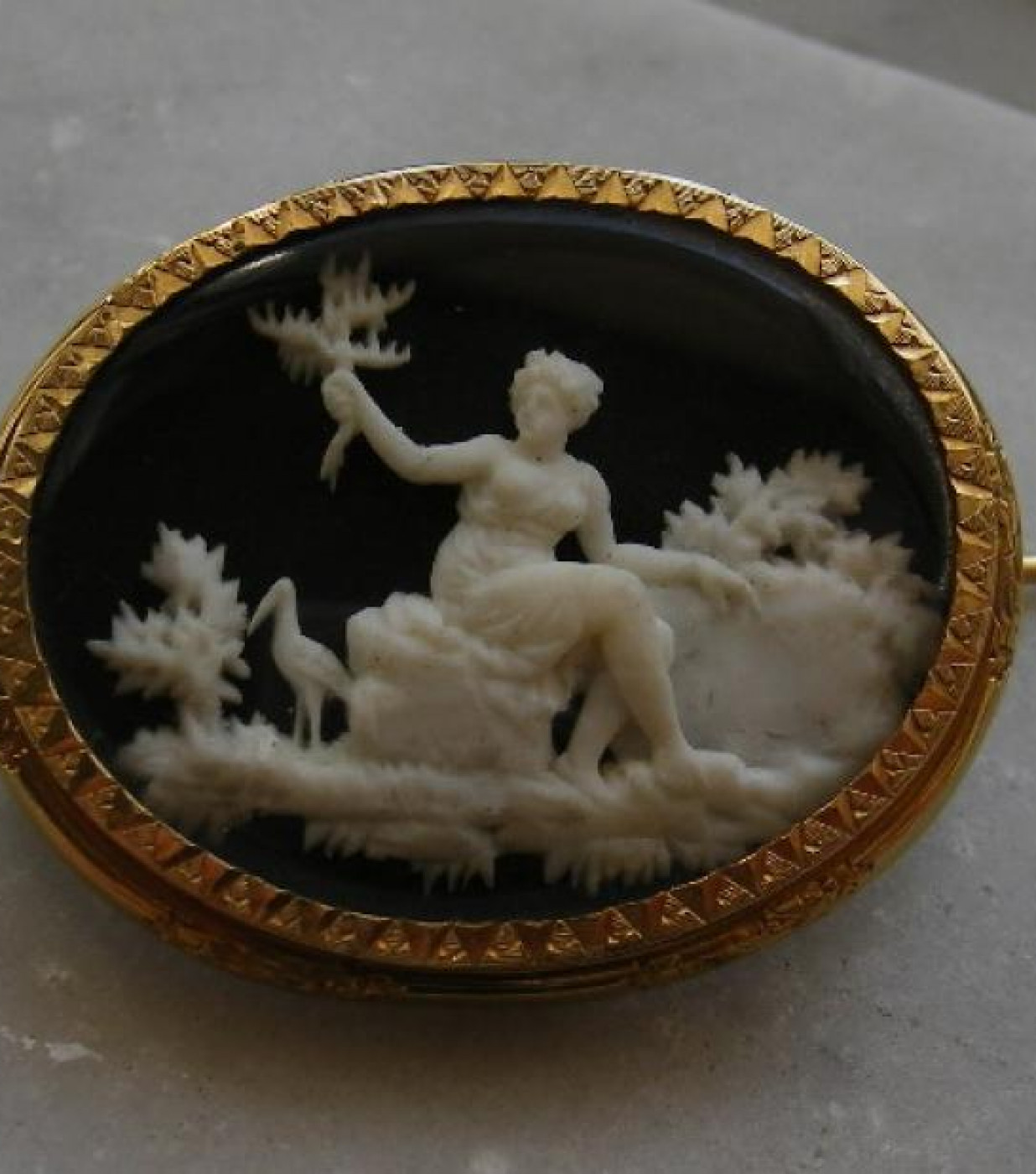 Micro Ivory of Goddess Diana