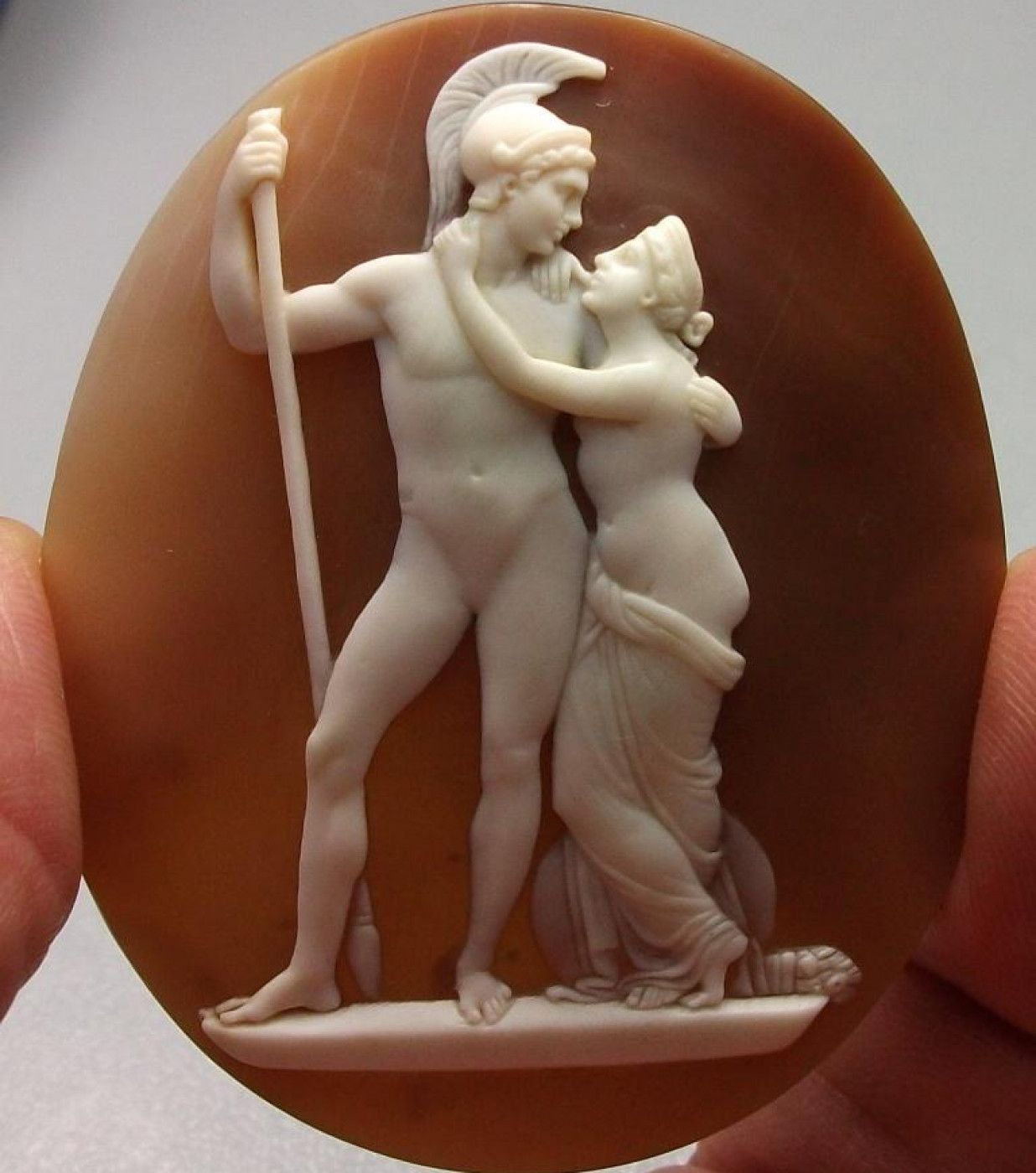 Rarest Cameo  of Venus and Mars by Saulini
