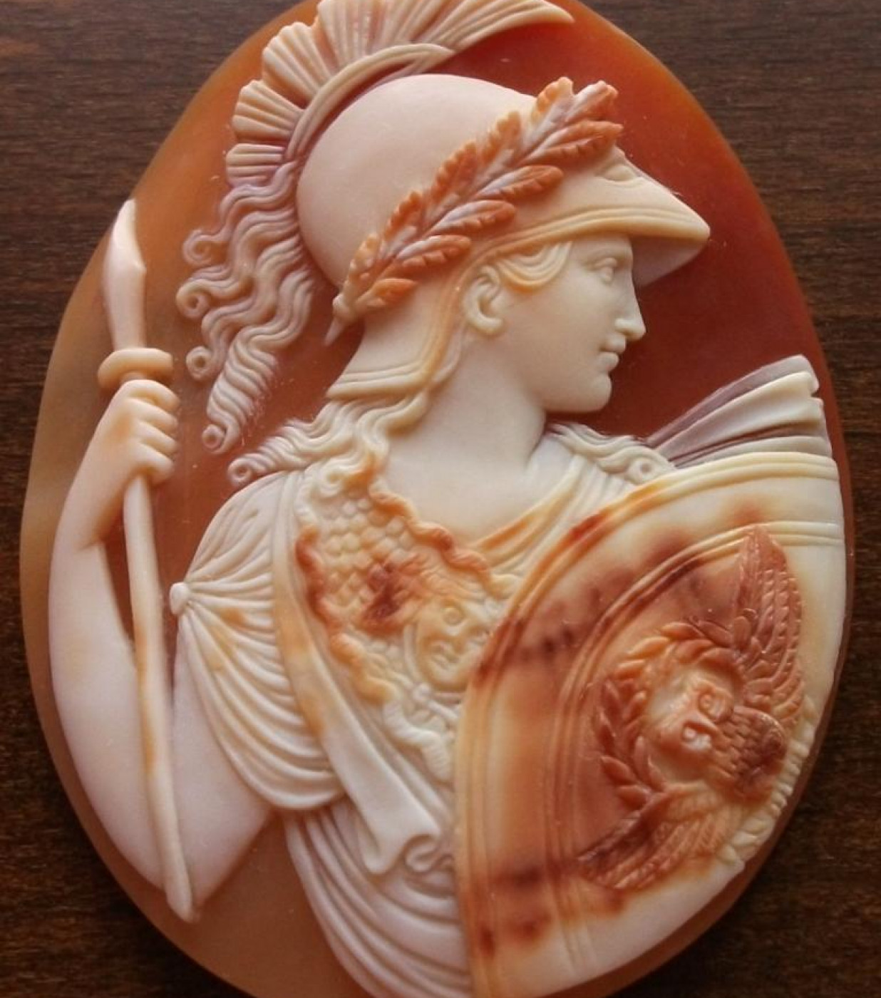 Rarest Cameo of  Athena in Armour