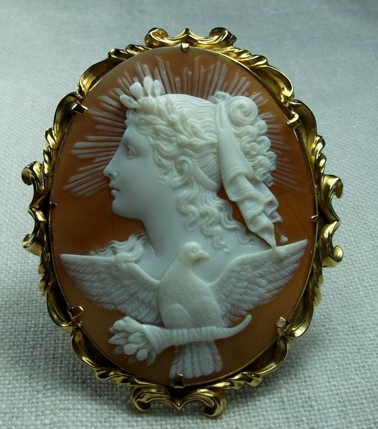 Wonderful Cameo The Allegory of the Day